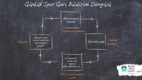 4 Aşamalı Günlük Spor Geri Bildirim Döngüsü