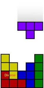tetris görseli hayat bir oyundur