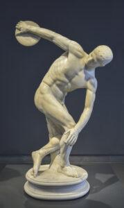 Olimpiyat Oyunları disk atan adam