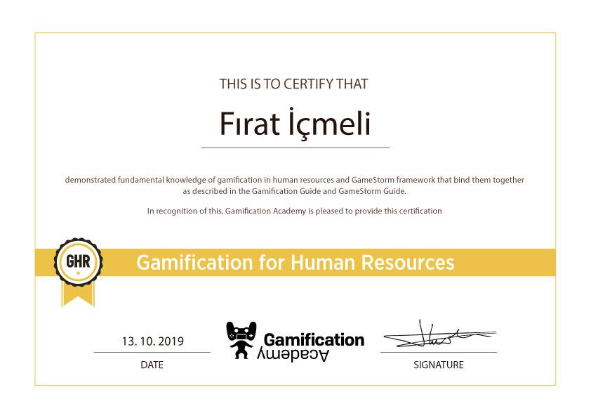 GHR sertifika
