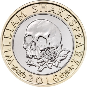 The Shakespeare Tragedies £2 Coin