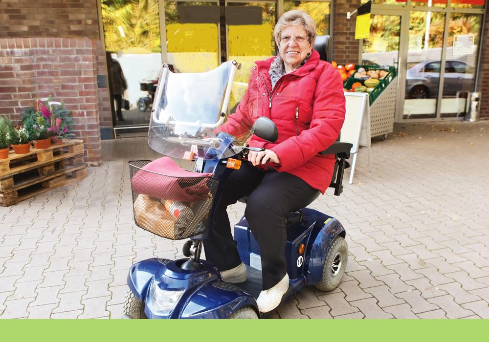 Mobility scooter V2