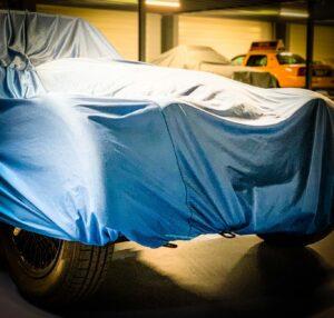 Housse de protection pour voiture de collection