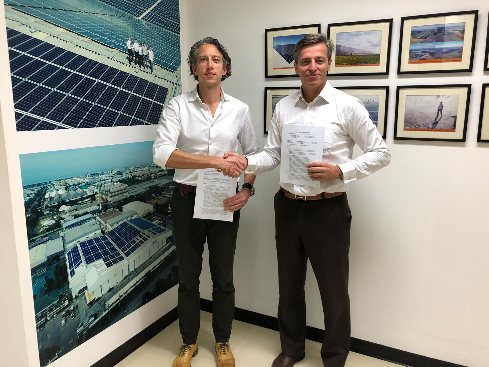 ion Ventures and Constant Energy • MoU signing