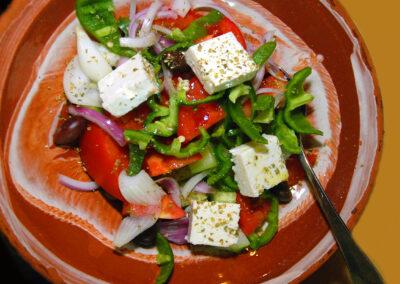 Horiatiki salata - village/Greek salad