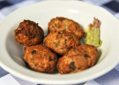 Keftedes - meatballs