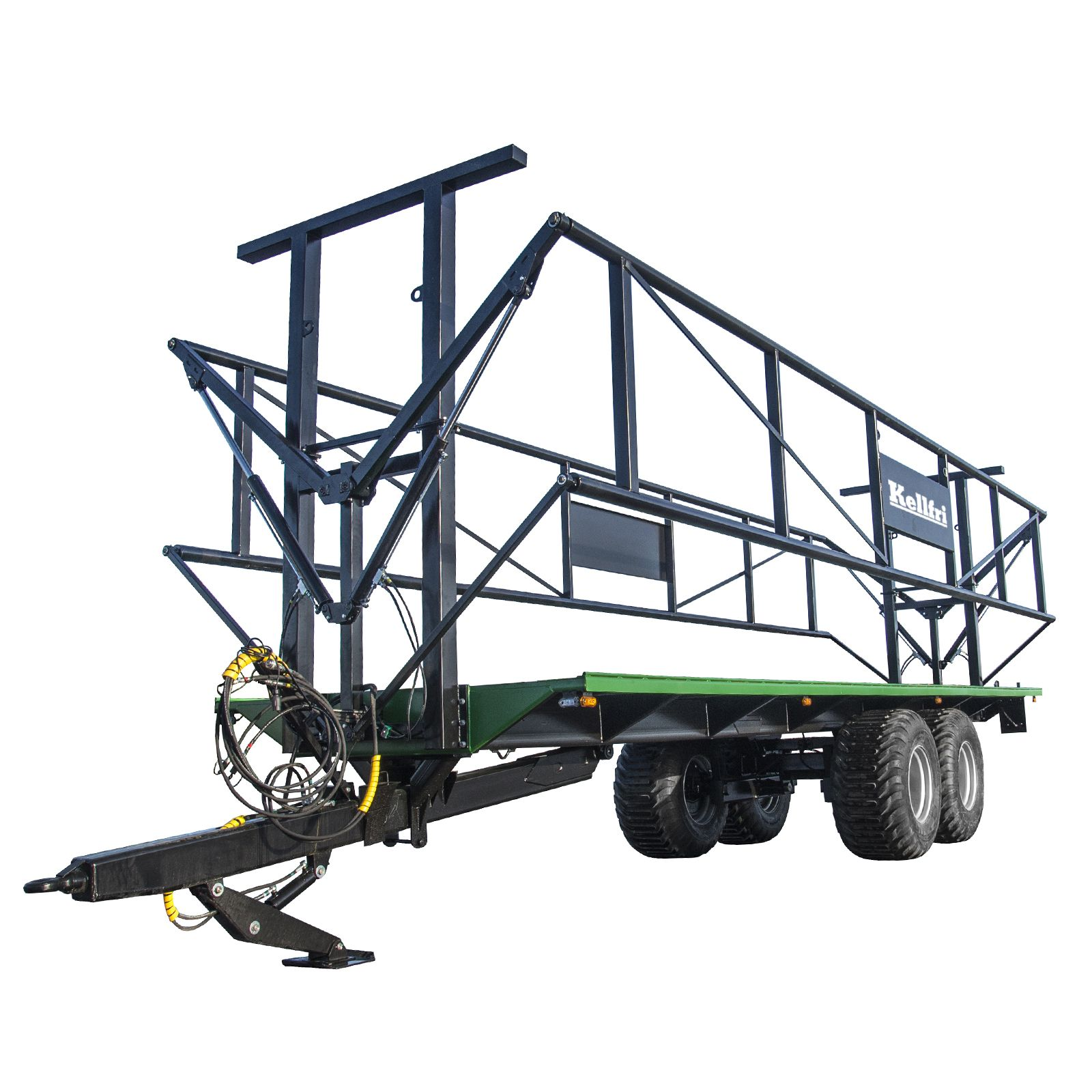 14/18T Trailer with clamp sidesLearn More