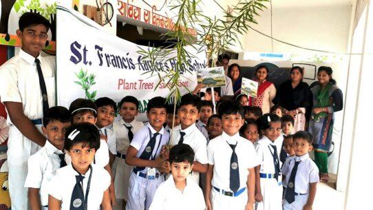 Plant Trees, Save Planet - St Francis Xaviers High School