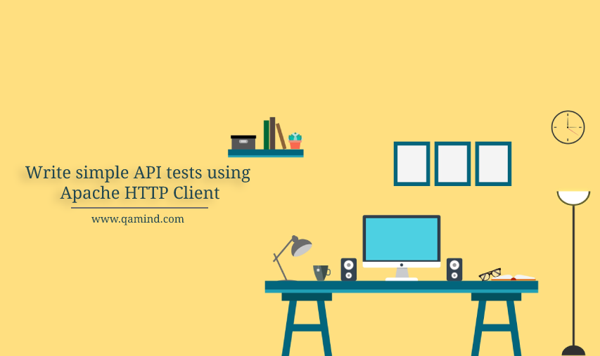 API tests using Apache HTTP Client
