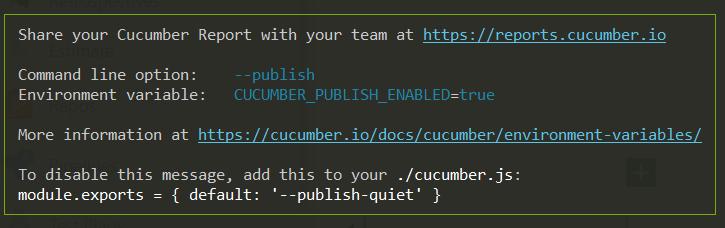 Selenium and Cucumber framework
