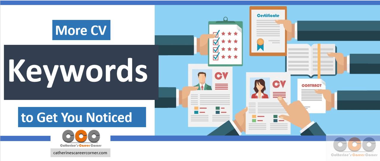 More CV Keywords to Get You Noticed