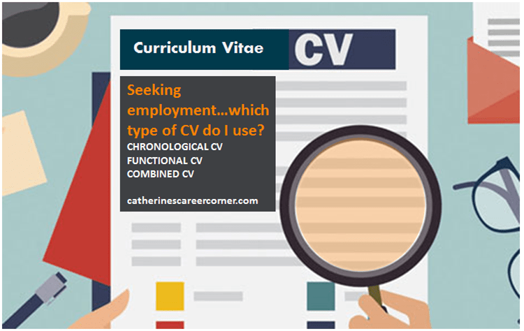 3 Types of CV_Advantages and Disadvantages