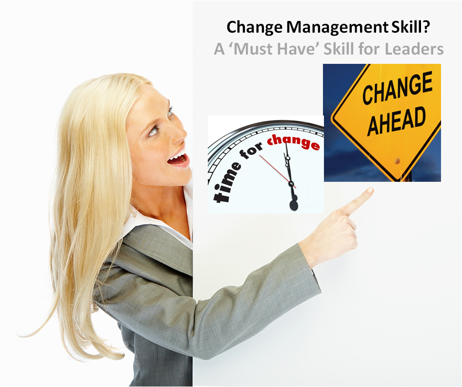 Change Management skill is a critical skill for leaders