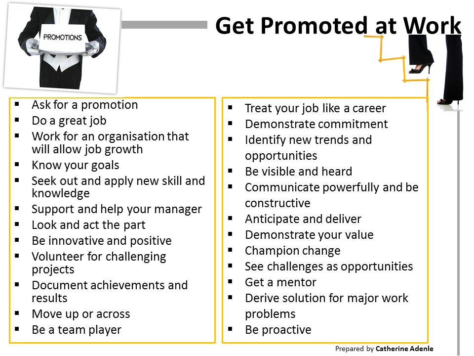How to Get Promoted at Work: Quick Guide to Getting Promoted