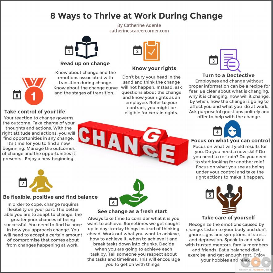 8 Ways to Thrive at Work During Change