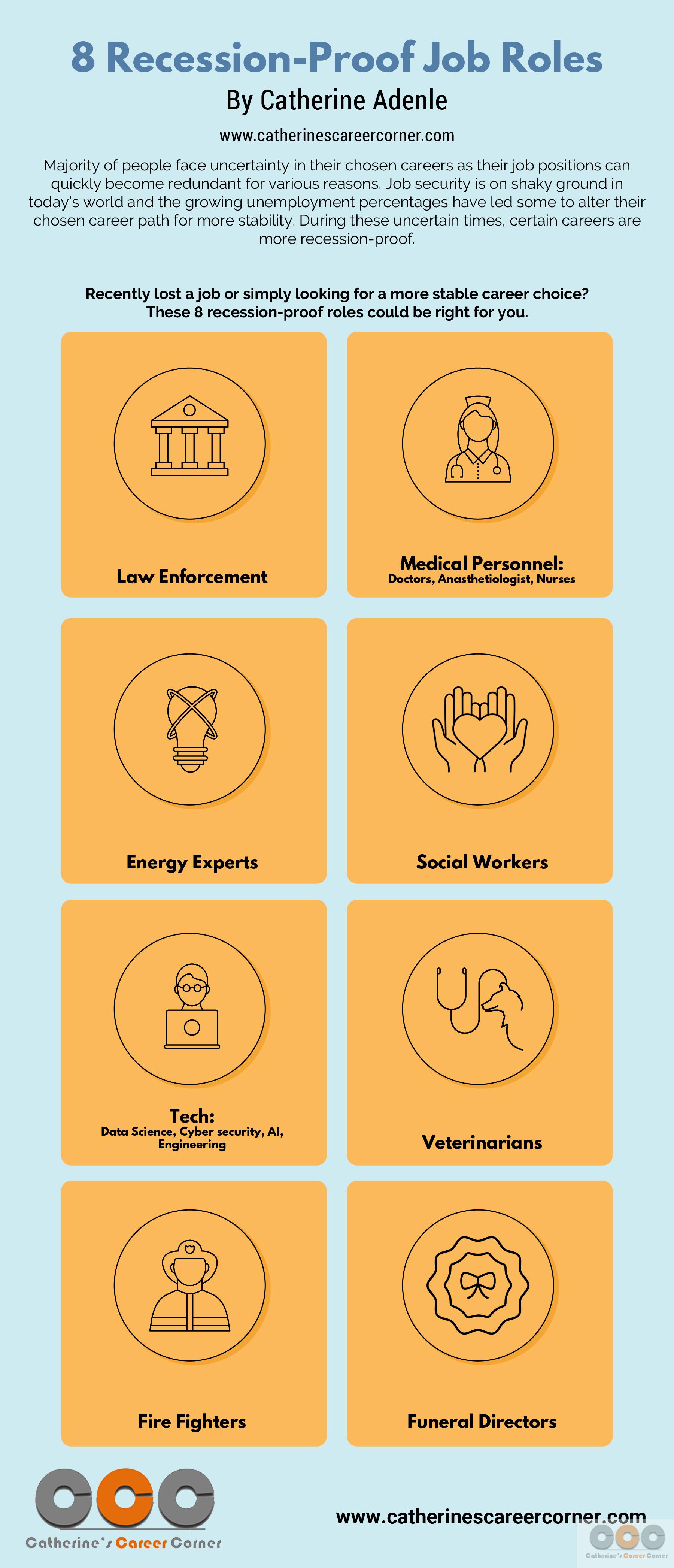 8 Recession-Proof Job Roles