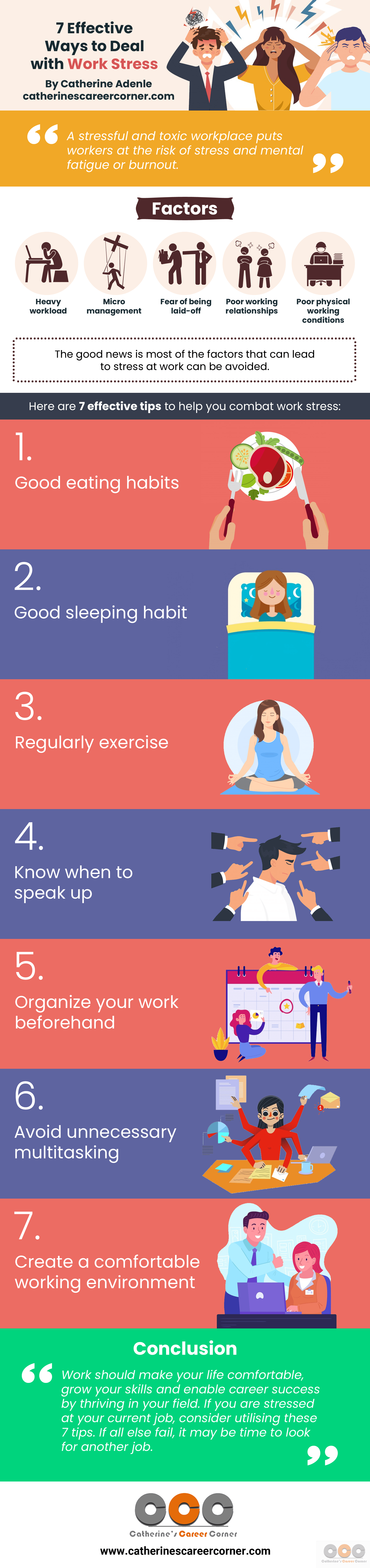 7 Effective Ways to Deal With Work Stress