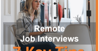 Remote job interview tips