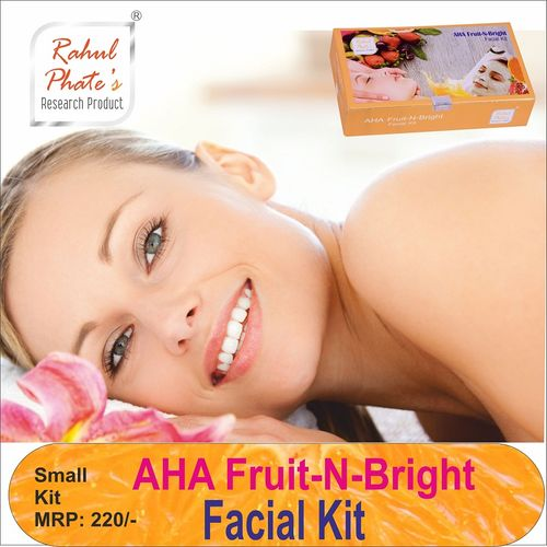 Rahul Phate AHA Fruit N Bright Facial Kit for Women Small Size 50g