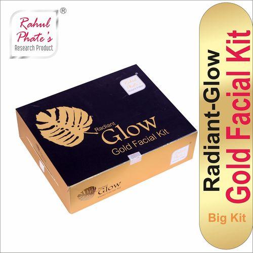 Rahul Phate Radiant Glow Gold Facial Kit Big Size 150g