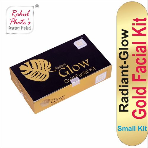 Rahul Phate Radiant Glow Gold Facial Kit Small Size 50g