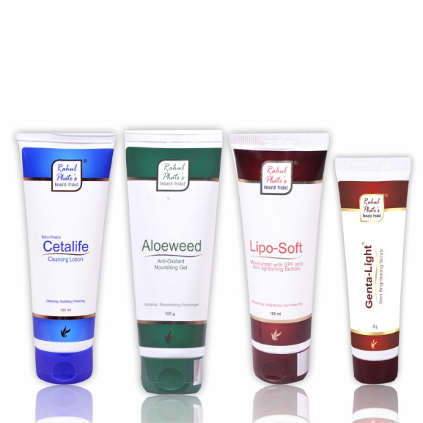 Cleansing-Scrubbing-Tonning-Moisturizing Daily Home Care Combo Kit
