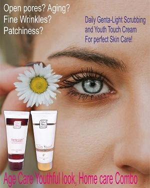 Youth Touch Cream 40 g + Genta-Light Scrub 25 g 1(1)