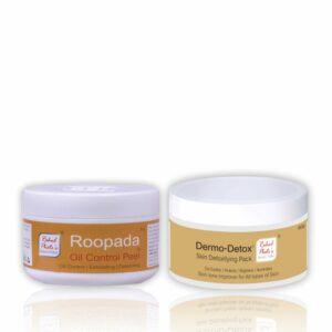 Roopada Oil Peel 75 g + Dermo Detox 60 g Combo Pack