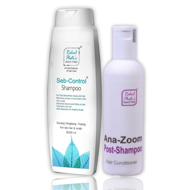 Oily Hair Care Home Combo Kit