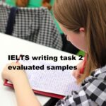 IELTS writing task 2 evaluated samples