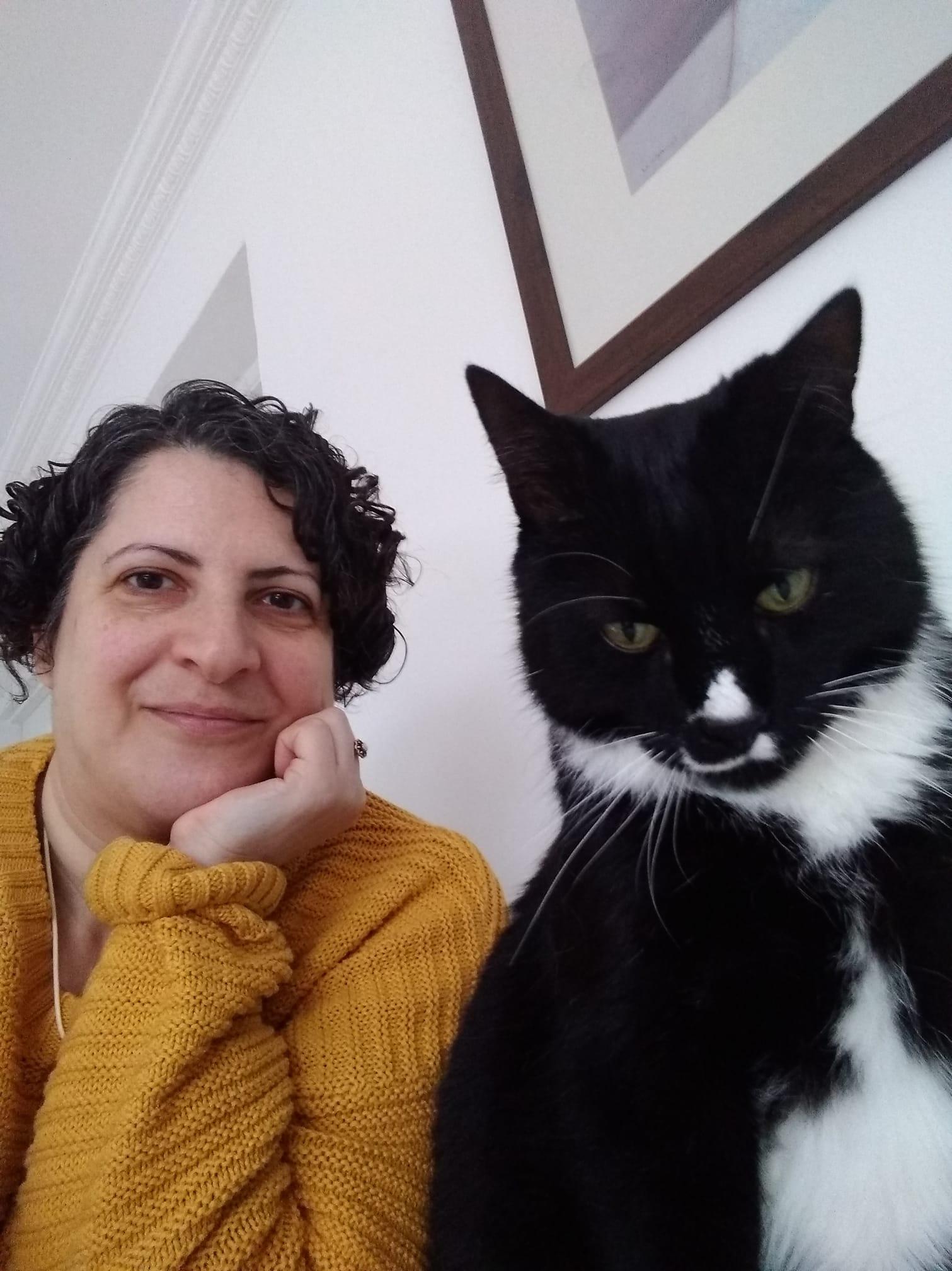 maria and cat