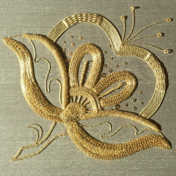 sewing-with-gold-thread