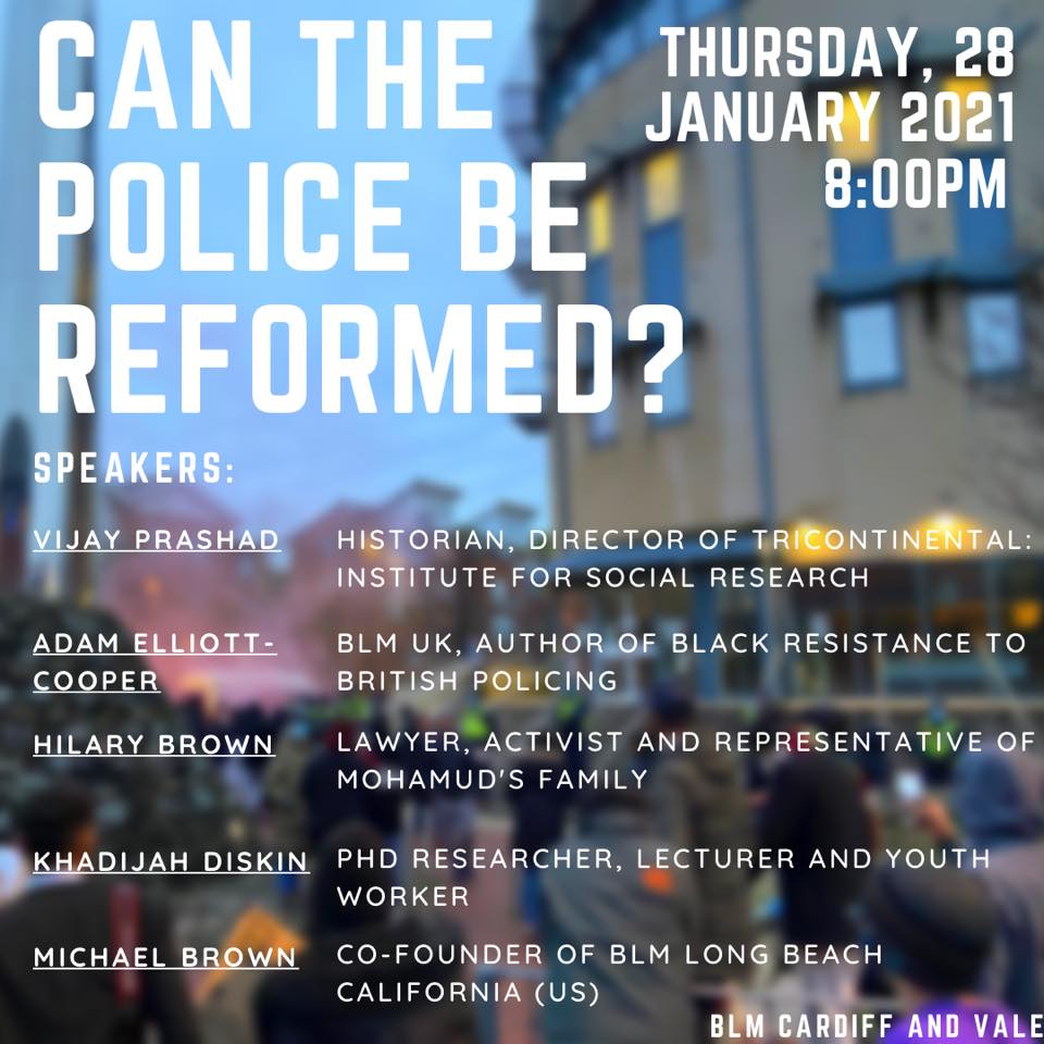 Can the police be reformed? Event poster