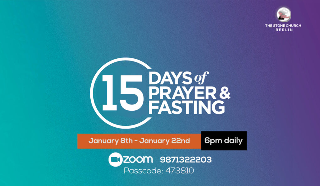 15 Days of Prayer and Fasting