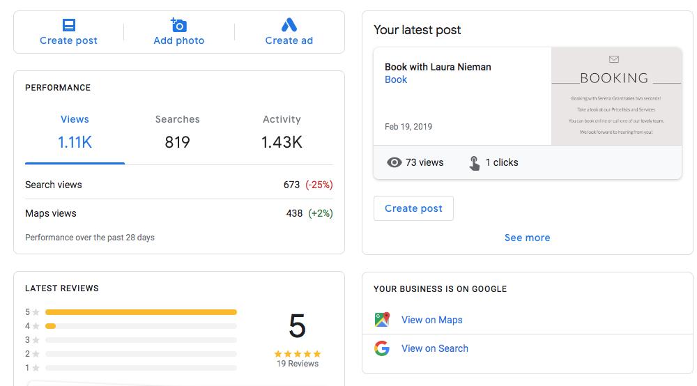 Google Analytics Franchising