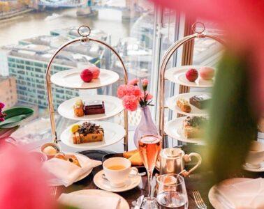 afternoon tea ting shangri la london