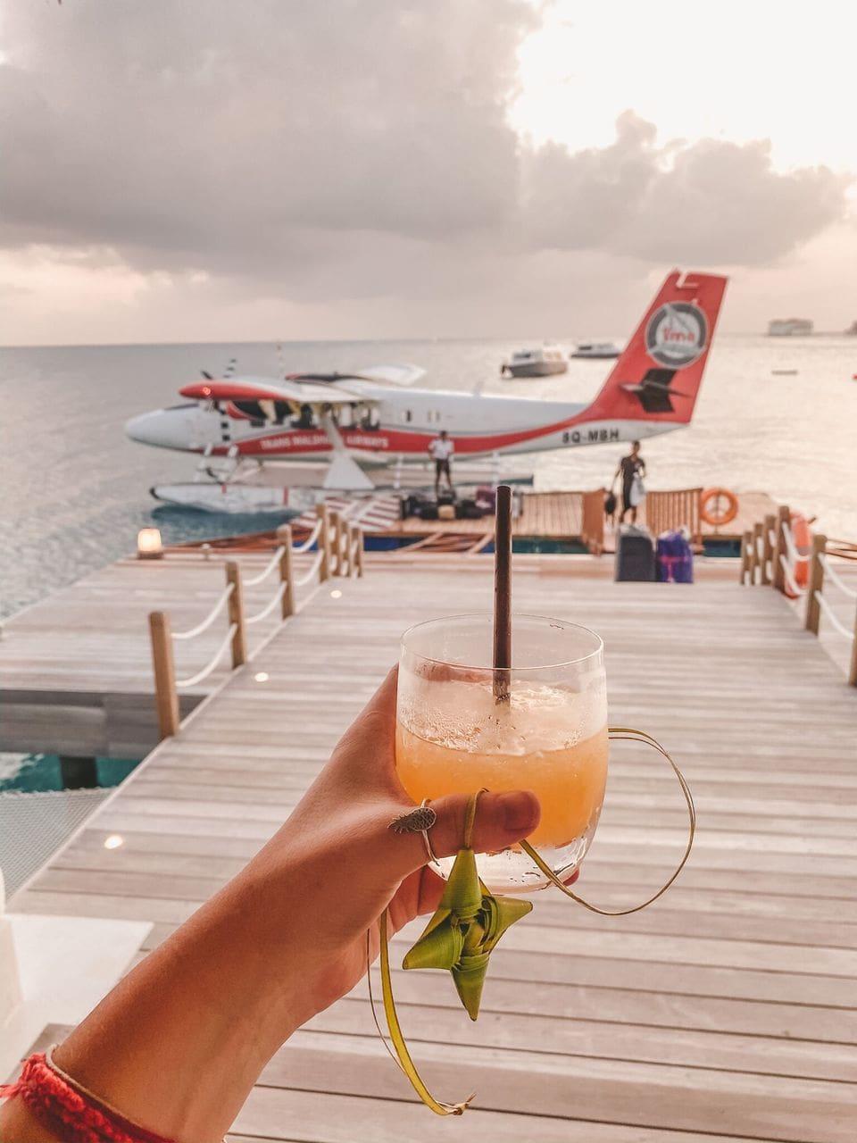 Seaplane Anreise JW Marriott Maldives