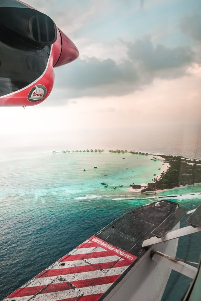 Seaplane JW Marriott Maldives