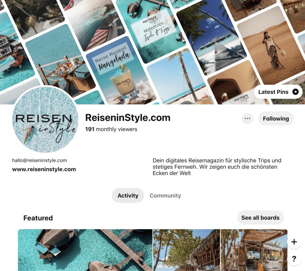 Reisen in Style auf Pinterest
