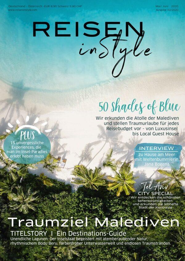 Reisen in Style Magazin Deutschland Cover April 2020