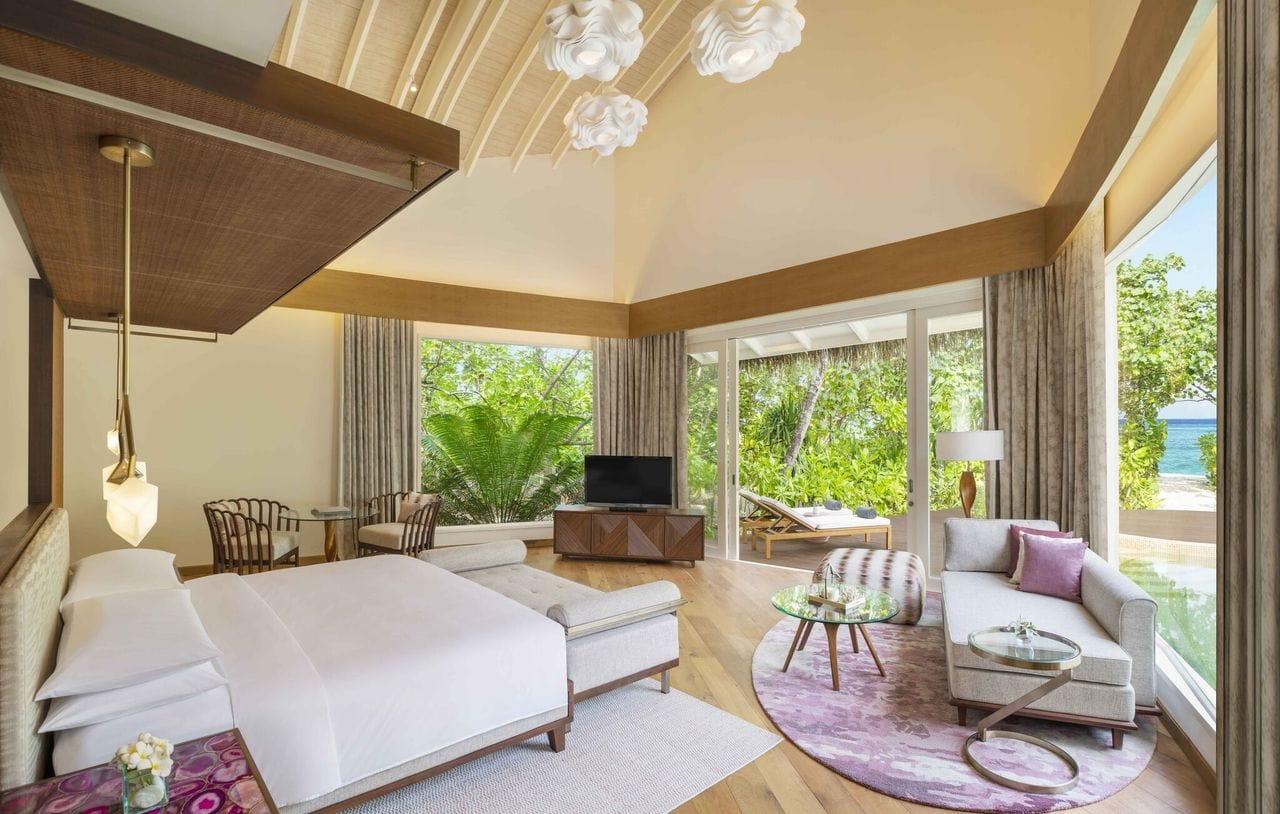 JW Marriott Maldives Beach Villa
