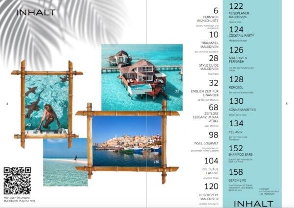 Reisen in Style Magazin Ausgabe 02 Malediven