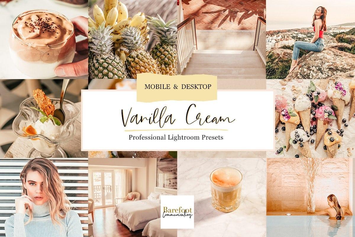beige vanilla lightroom presets