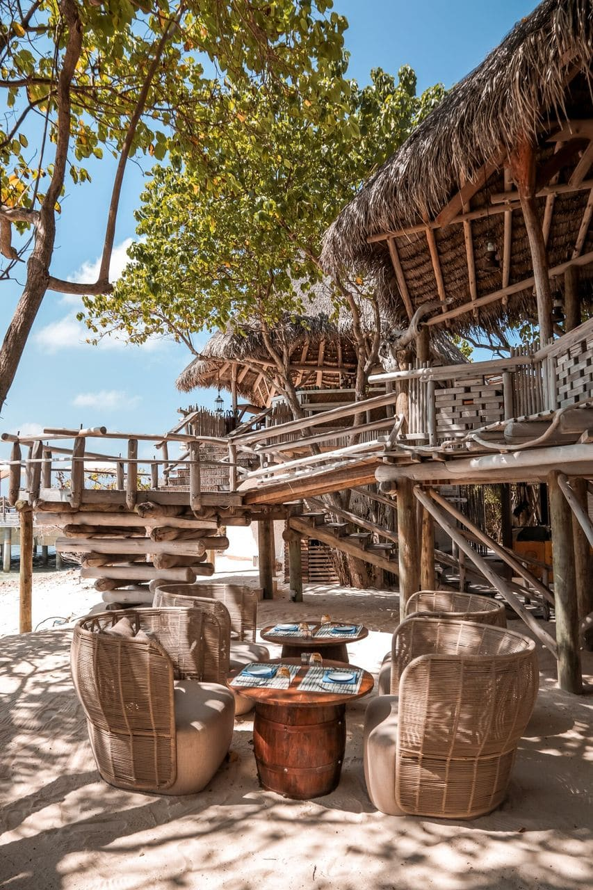 JW Marriott Maldives Baumhaus Bar