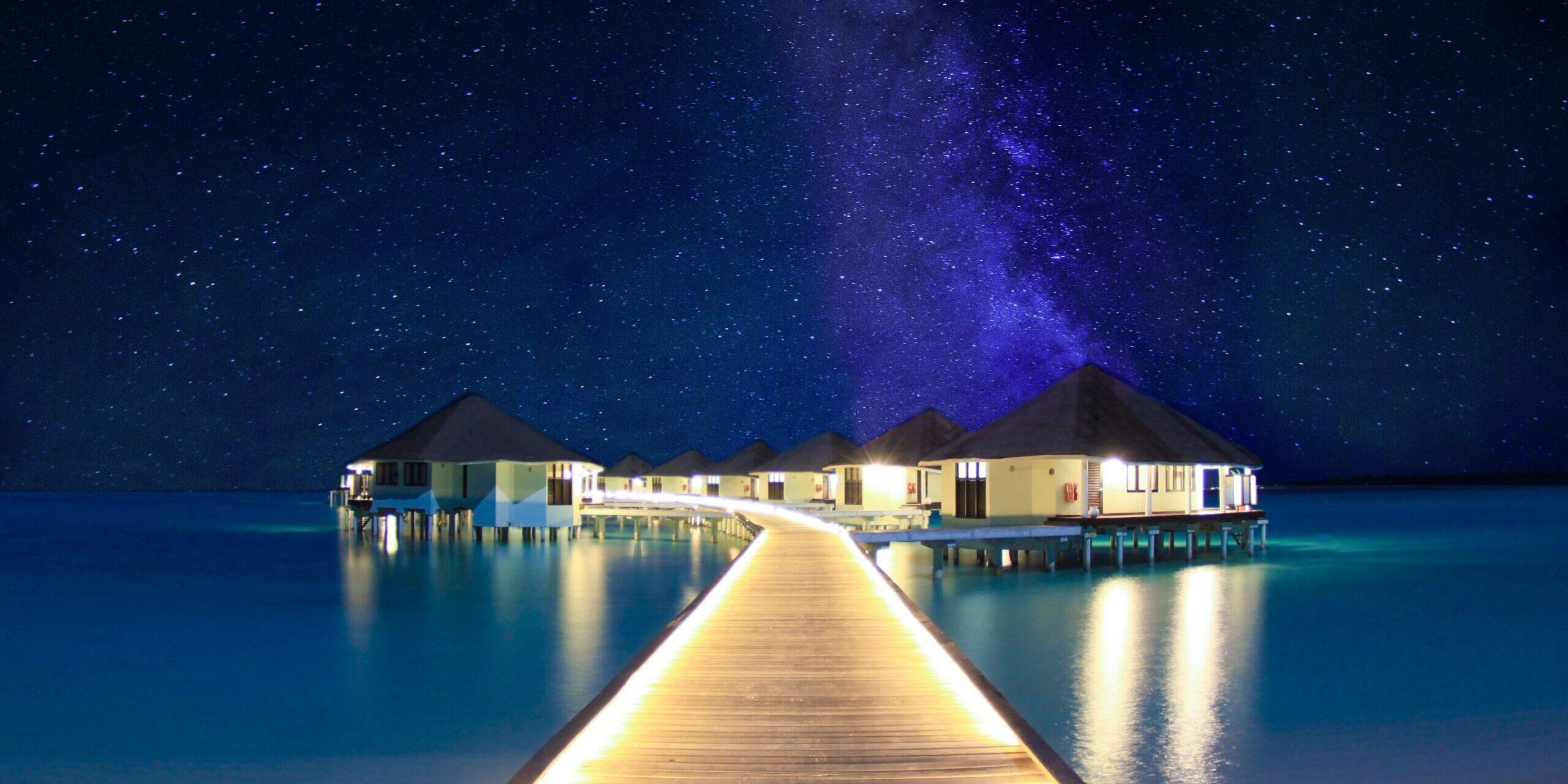 Reisen in Style Magazin - Malediven Bucketlist - Sternenhimmel Malediven