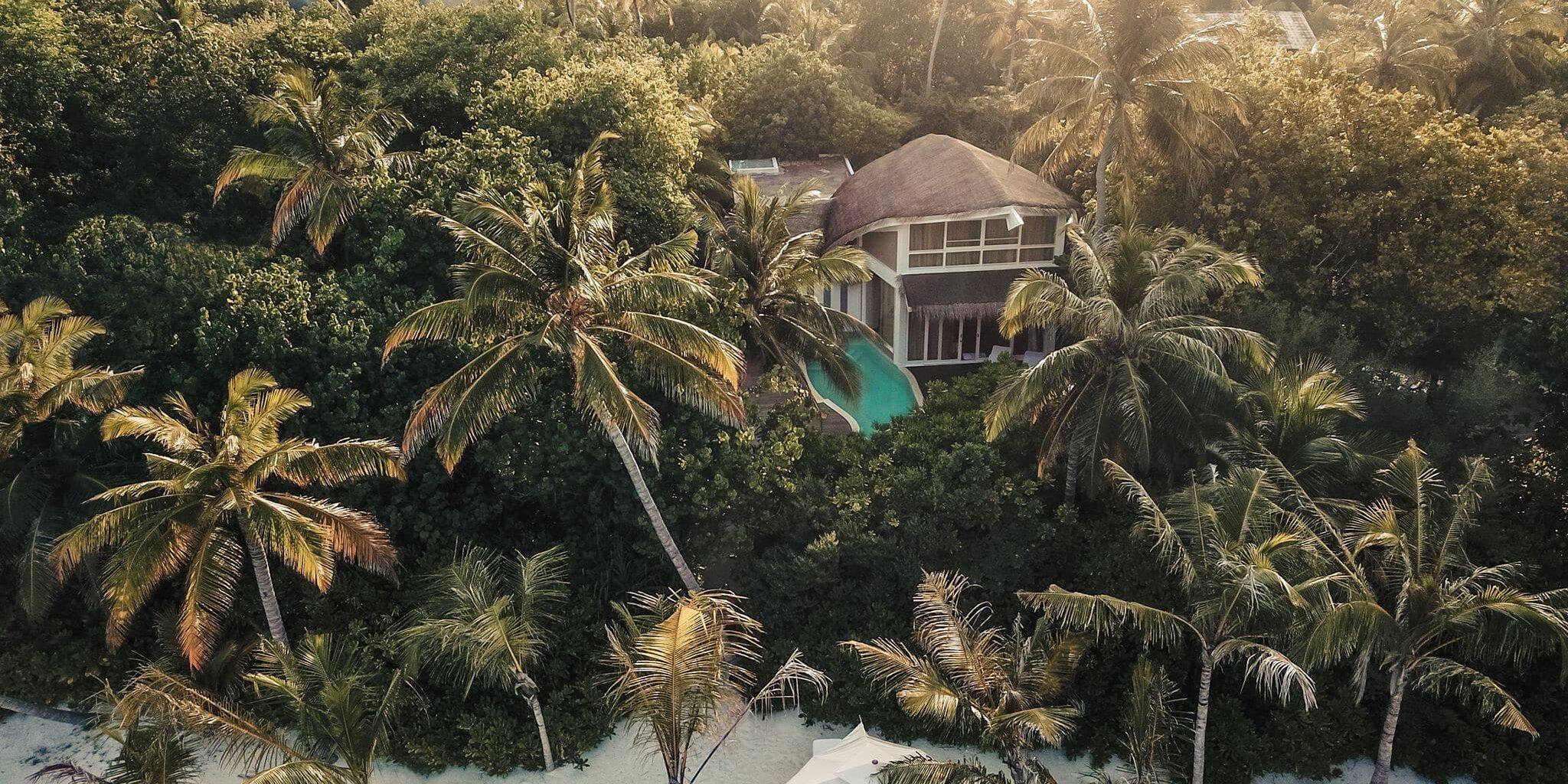 JW Marriott Maldives Duplex Beach Pool Villa