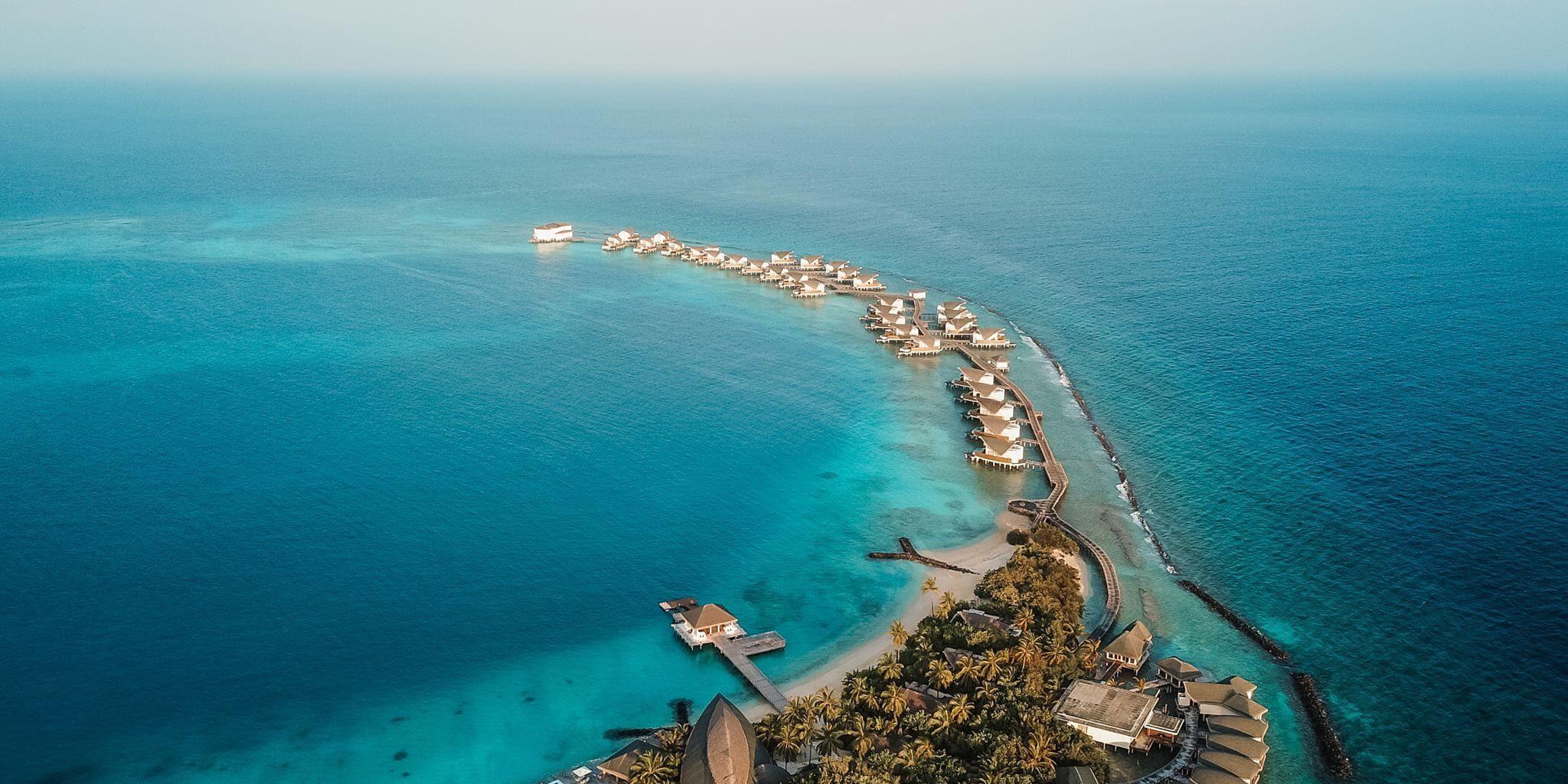 JW Marriott Maldives Aerial Reisen in Style