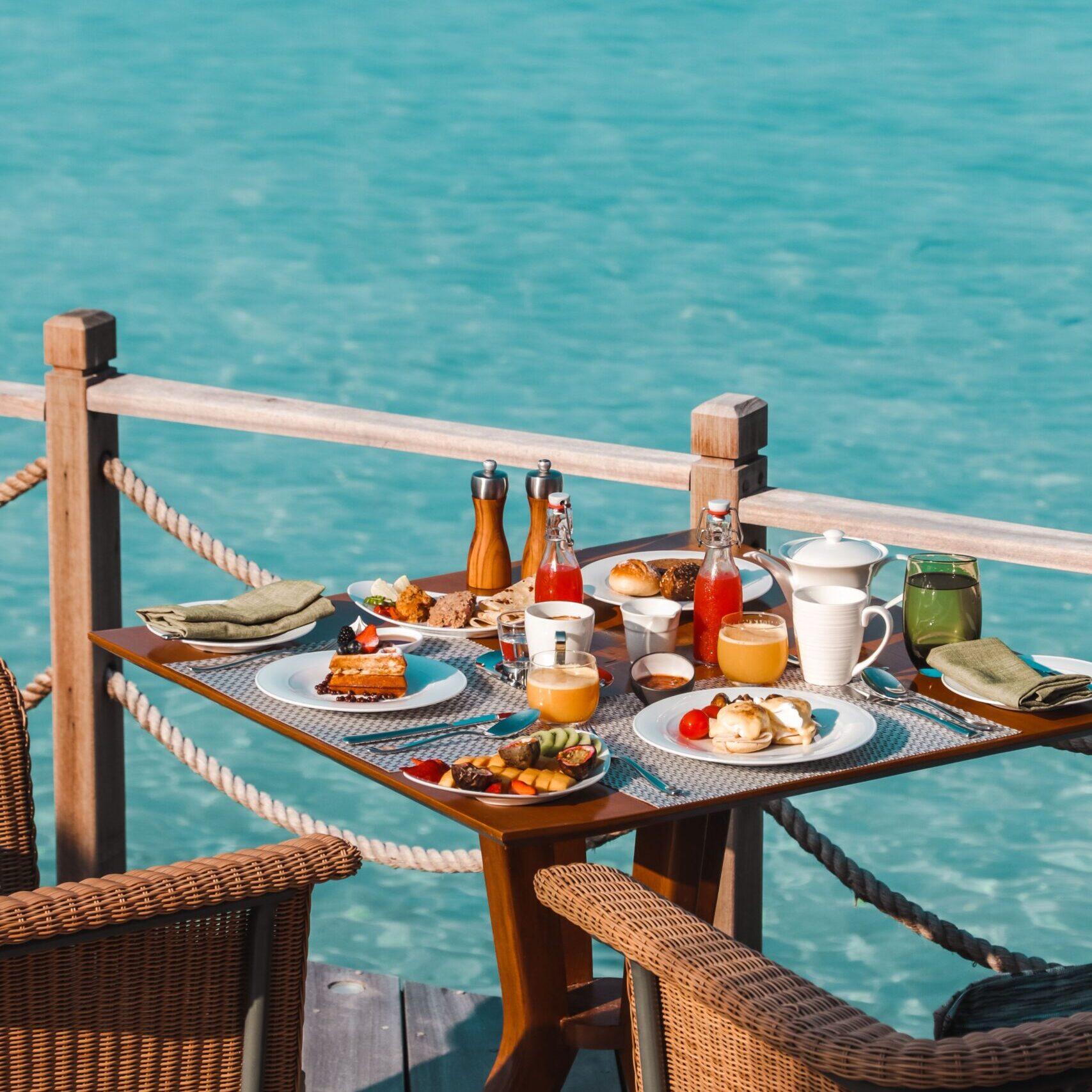 JW Marriott Maldives Frühstück Breakfast