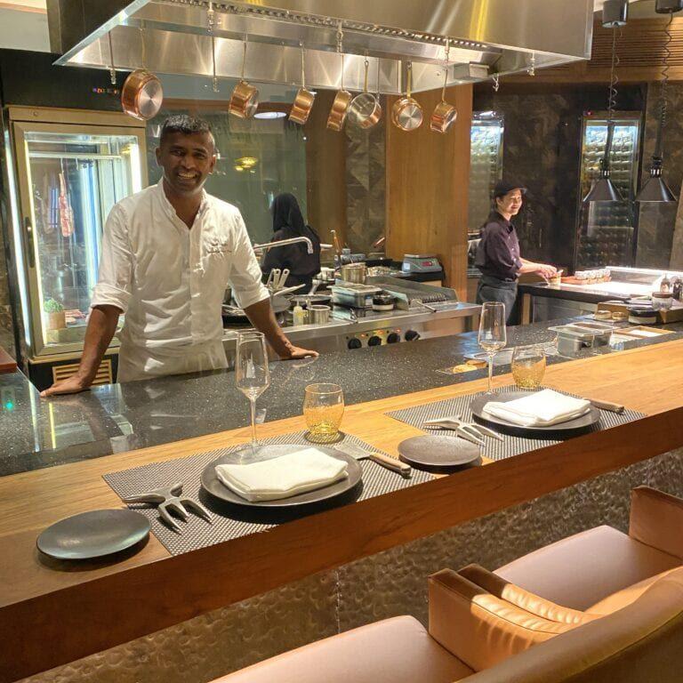 JW Marriott Maldives Restaurant