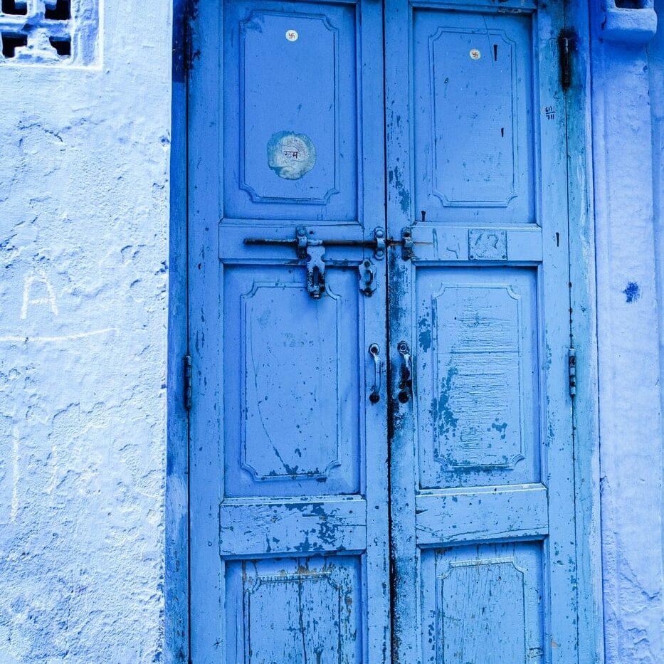 Jodhpur Blaue Tür Reisen in Style